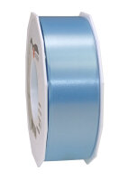 Geschenkband Hellblau 91m x 40mm America Ringelband