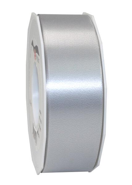 Geschenkband Silber 91m x 40mm America Ringelband