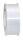 Geschenkband Weiß 91m x 40mm America Ringelband
