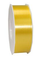 Geschenkband Gelb 91m x 40mm America Ringelband