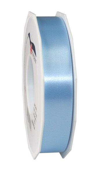 Geschenkband Hellblau 91m x 25mm America Ringelband