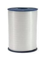 Geschenkband Weiß 500m x 5mm America Ringelband