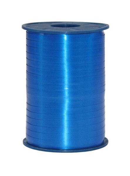 Geschenkband Royalblau 500m x 5mm America Ringelband