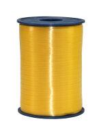Geschenkband Gelb 500m x 5mm America Ringelband