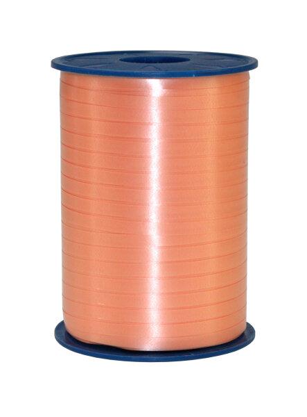 Geschenkband Apricot 500m x 5mm America Ringelband