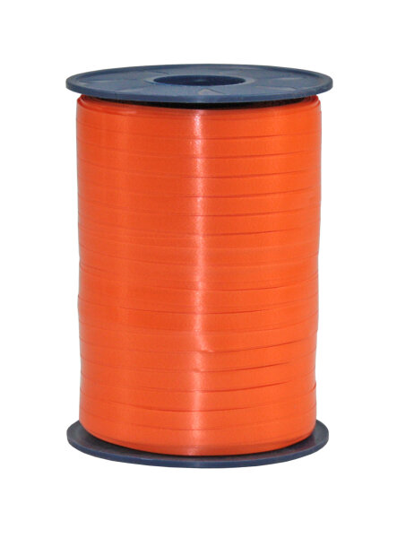 Geschenkband Orange 500m x 5mm America Ringelband
