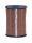 Geschenkband Braun 500m x 5mm America Ringelband