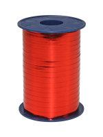 Geschenkband Metallic Rot 400m x 5mm Mexico Ringelband