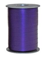 Geschenkband Matt Violett 200m x 10mm Opak Ringelband