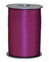 Geschenkband Matt Purpur 200m x 10mm Opak Ringelband