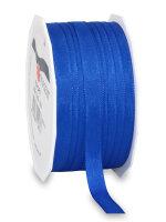 Taftband Royalblau 50m x 10mm Europa Schleifenband