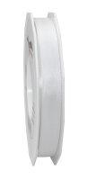 Taftband Weiß 50m x 15mm Europa Schleifenband