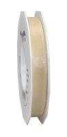 Taftband Creme 50m x 15mm Europa Schleifenband