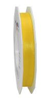 Taftband Gelb 50m x 15mm Europa Schleifenband