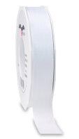 Taftband Weiß 50m x 25mm Europa Schleifenband