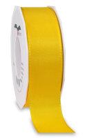 Taftband Gelb 50m x 40mm Europa Schleifenband