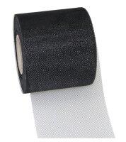 Tüllband Schwarz 50m x 72mm Verona