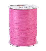 Bastband Pink 100m Rayon Raffia