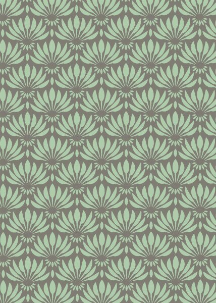 Geschenkpapier Secare Rolle Hargarten mint Rec.70 cm x 250m - 30184