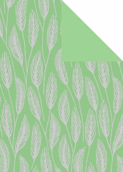 Geschenkpapier Secare Rolle Avignon salbei sg 30 cm x 250 m - 60550