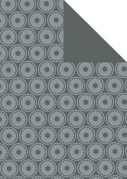 Geschenkpapier Secare Rolle Hoetmar hblau Rec.70 cm x 250m - 60568