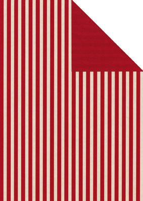 Geschenkpapier Secare Rolle Leer kitt-rot we.70 cm x 250 m - 60510
