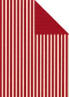 Geschenkpapier Secare Rolle Leer kitt-rot we.70 cm x 250...