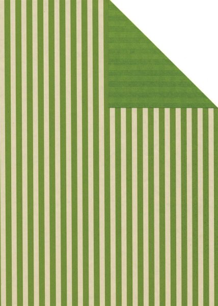 Geschenkpapier Secare Rolle Leer kitt-grün we.30 cm x 250 m - 60512