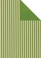 Geschenkpapier Secare Rolle Leer kitt-grün we.30 cm...