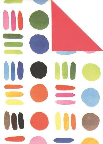 Geschenkpapier Secare Rolle Dakota x VT rot mg 70 cm x 250m - 60150