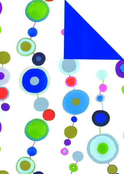 Geschenkpapier Secare Rolle Padua x VT blau mg 30 cm x 250 m - 60110