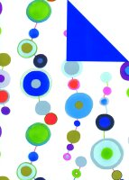 Geschenkpapier Secare Rolle Padua x VT blau mg 70 cm x...