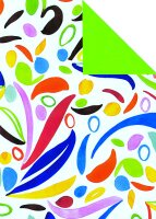 Geschenkpapier Secare Rolle Paarl x VT grün mg 50 cm...