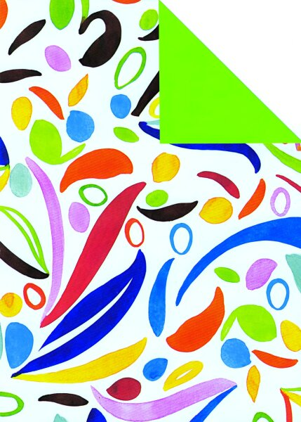 Geschenkpapier Secare Rolle Paarl x VT grün mg 70 cm x 250 m - 60193