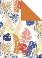 Geschenkpapier Secare Rolle Sabah x VT orange mg 70 cm x...