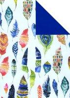 Geschenkpapier Secare Rolle Torino x VT blau mg 30 cm x...