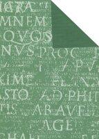 Geschenkpapier Secare Rolle Epigramm salbei we.50 cm x...