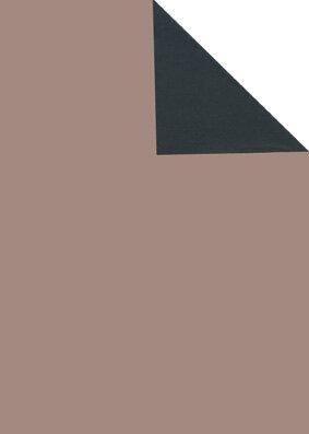 Geschenkpapier Secare Rolle VT rosé x schwarz gN 70 cm x 250m - 70156