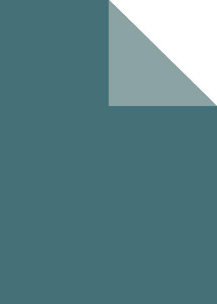 Geschenkpapier Secare Rolle stahlblau x hellbl.sg.30cm x 250m - 60244