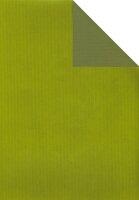 Geschenkpapier Secare Rolle VT kiwi-moosgrün be.50cm...