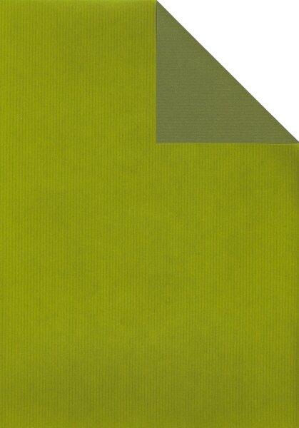 Geschenkpapier Secare Rolle VT kiwi-moosgrün be.70cm x 250m - 60040