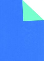 Geschenkpapier Secare Rolle VT blau-jade we.50 cm x 250 m...
