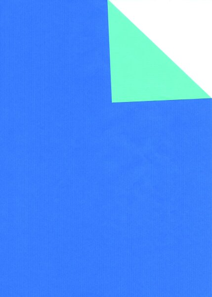 Geschenkpapier Secare Rolle VT blau-jade we.70 cm x 250 m - 60160