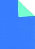 Geschenkpapier Secare Rolle VT blau-jade we.70 cm x 250 m...
