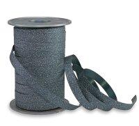 Geschenkband Glitzer Petrol 100m x 10mm Poly Glitter...