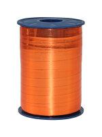 Geschenkband Metallic Orange 250m x 10mm Mexico Ringelband