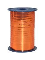Geschenkband Metallic Orange 400m x 5mm Mexico Ringelband