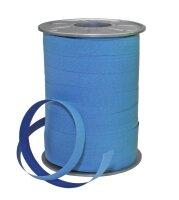 Geschenkband zweifarbig Hellblau 200m x 10mm Bicolour...