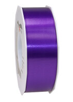 Geschenkband Violett 91m x 40mm America Ringelband