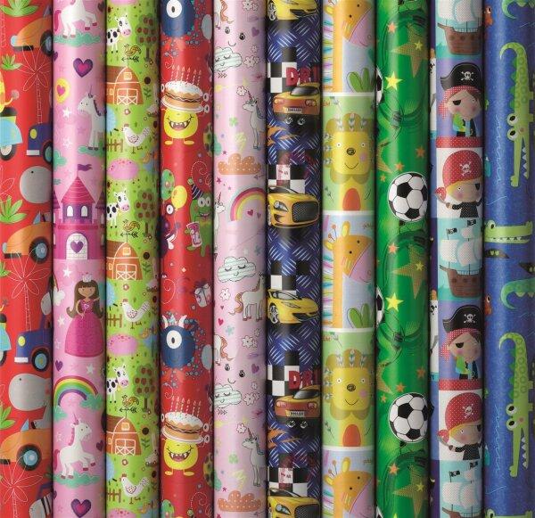 Geschenkpapier Kinder Geburtstag 2m x 70cm